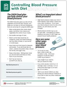 DASH Food Plan Tearpad (50 sheets per pad)