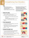 Shoulder Strengthening Tearpad (50 sheets per pad) (295A)- front side