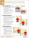 Shoulder Strengthening Tearpad (50 sheets per pad) (295A) - back side