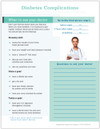 Diabetes Complications Tearpad (50 sheets per pad) (335A) back side