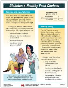 Diabetes and Food Tearpad (50 sheets per pad)