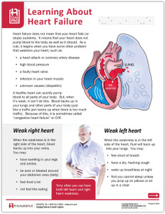 Learning About Heart Failure Tearpad (50 sheets per pad)