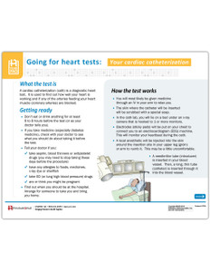 Your Cardiac Cath Tearpad (50 sheets per pad)