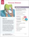 PVD Venous Disease Tearpad (50 sheets per pad) (389A) - front side