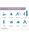 Diabetes Stretching Exercises Tearpad (50 sheets per pad) (421A) back side