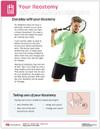Your ileostomy tearpad - back side