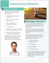 Gestational Diabetes Tearpad (50 sheets per pad) (575A) - back side