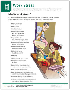 Work Stress Tearpad (598A) - front page