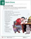Work Stress Tearpad (598A) - second page