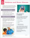 Diabetes and Heart Disease Tear Sheet (604A) -front side