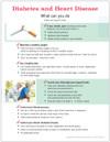 Diabetes and Heart Disease Tear Sheet (604A) - back side