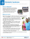 Metabolic Syndrome Tear Sheet (629A) - back side