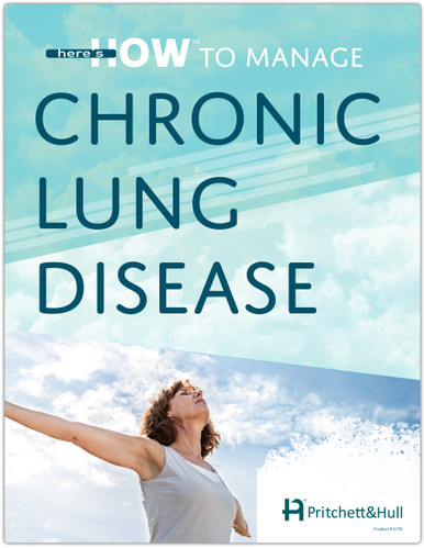 Here's How to Manage Chronic Lung Disease (PACK OF 20) (577A) front cover