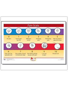Pain Scale Magnet