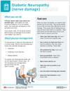 Diabetic Neuropathy Tearpad Side 2