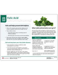 Folic Acid Tearpad