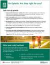 Safe Use of Opioids Tearpad
