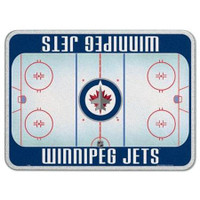 Winnipeg Jets Glass Cutting Board