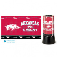 Arkansas Razorbacks Rotating Team Lamp