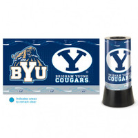 Brigham Young Cougars Rotating Team Lamp