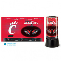 Cincinnati Bearcats Rotating Team Lamp