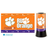 Clemson Tigers Rotating Team Lamp