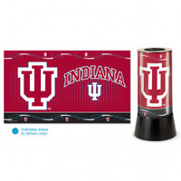 Indiana Hoosiers Rotating Team Lamp