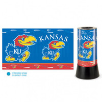 Kansas Jayhawks Rotating Team Lamp