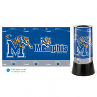 Memphis Tigers Rotating Team Lamp