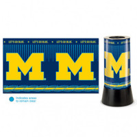 Michigan Wolverines Rotating Team Lamp