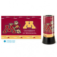 Minnesota Golden Gophers Rotating Team Lamp