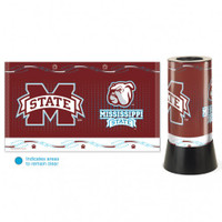 Mississippi State Bulldogs Rotating Team Lamp