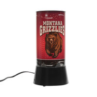 Montana Grizzlies Rotating Team Lamp