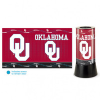 Oklahoma Sooners Rotating Team Lamp