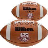 Oklahoma Sooners Official Wilson Leather Football 125 Years of Oklahoma Football LE