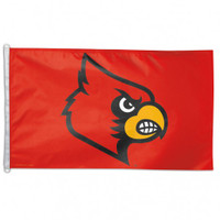 Louisville Cardinals NCAA 3x5 Team Flag