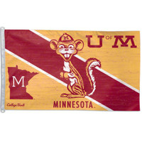 Minnesota Golden Gophers NCAA 3x5 Team Flag
