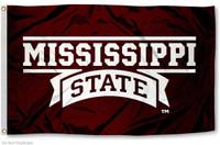 Mississippi State Bulldogs NCAA 3x5 Team Flag