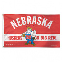 Nebraska Cornhuskers NCAA 3x5 Team Flag