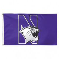 Northwestern Wildcats NCAA 3x5 Team Flag