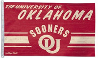 Oklahoma Sooners 3' x 5' Team Flag