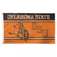 Oklahoma State Cowboys NCAA 3x5 Team Flag