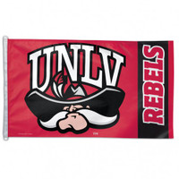 UNLV Runnin Rebels NCAA 3x5 Team Flag