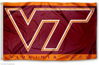 Virginia Tech Hokies NCAA 3x5 Team Flag