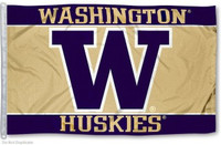Washington Huskies NCAA 3x5 Team Flag