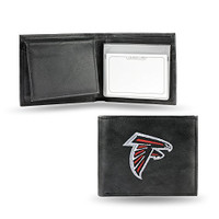 Atlanta Falcons Embroidered Billfold Leather Wallet