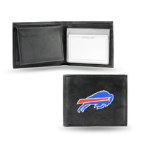 Buffalo Bills Embroidered Billfold Leather Wallet
