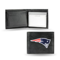New England Patriots Embroidered Billfold Leather Wallet