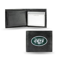 New York Jets Embroidered Billfold Leather Wallet