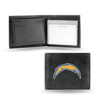 San Diego Chargers Embroidered Billfold Leather Wallet